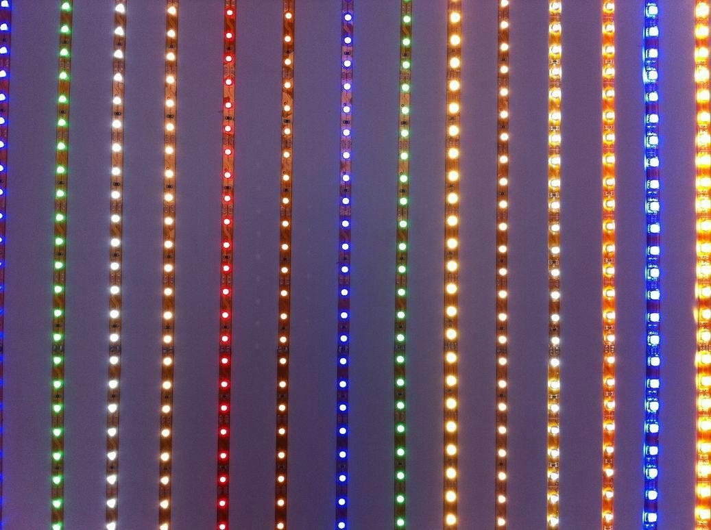 Colorful High Quality Safety Flexible LED Strip Light Water-Proof RGB SMD 2