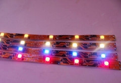 Colorful High Quality Safety Flexible LED Strip Light Water-Proof RGB SMD