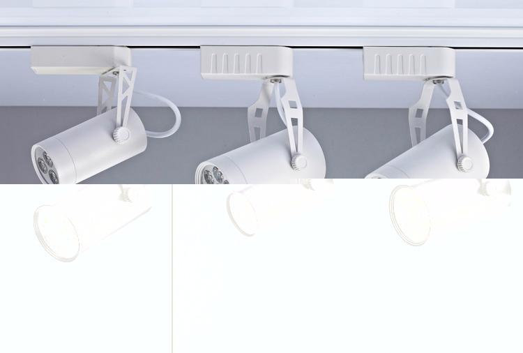 Modern Style LED Lighting High-End White Black LED Track Light 3
