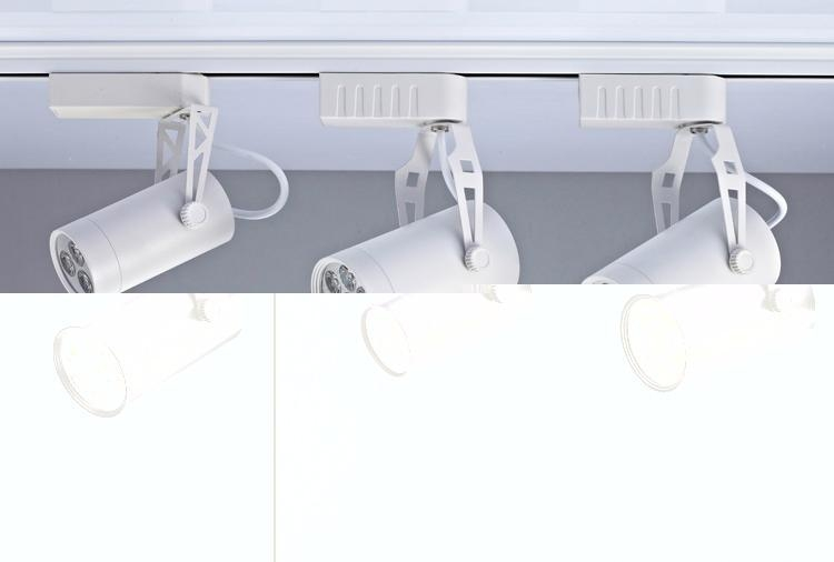 Modern Style LED Lighting High-End White Black LED Track Light 2