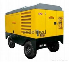 新疆移动式柴油空压机