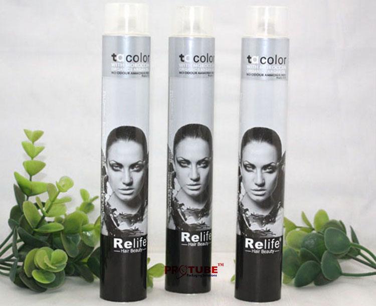 Aluminum Collapsible Tube Packaging Hair Dye tubes 1