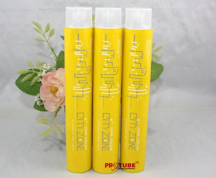 Aluminum Collapsible Tube Packaging Hair Dye tubes 2