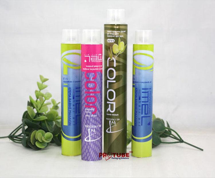 D32mm Hair Color cream tube, Hair Dying aluminum tubes 3