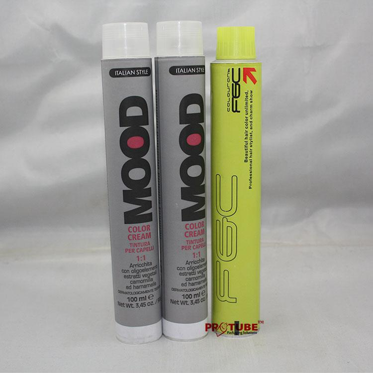 Empty Hair Color Cream Tube, 60g Aluminum Collapsible Tubes 3