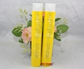 OEM Service collapsible aluminum hair color cream tube 4