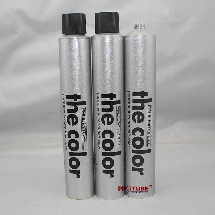 90g D32mm Hair color aluminum packing tube 1