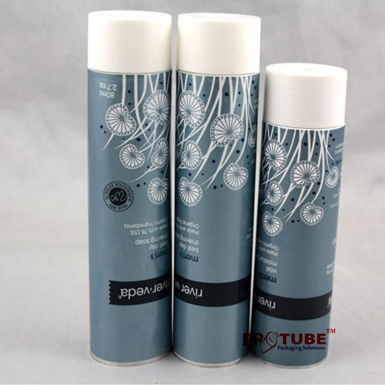 Empty cosmetic aluminum packaging tube for hand cream 3