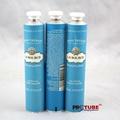 Beautiful collapsible aluminum tubes, empty hand cream tubes 3