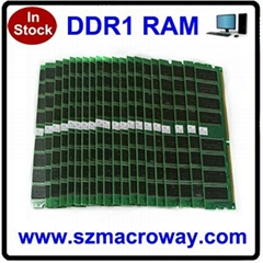 100% working compatible all motherboard ddr memory module used ddr1 ram 512mb