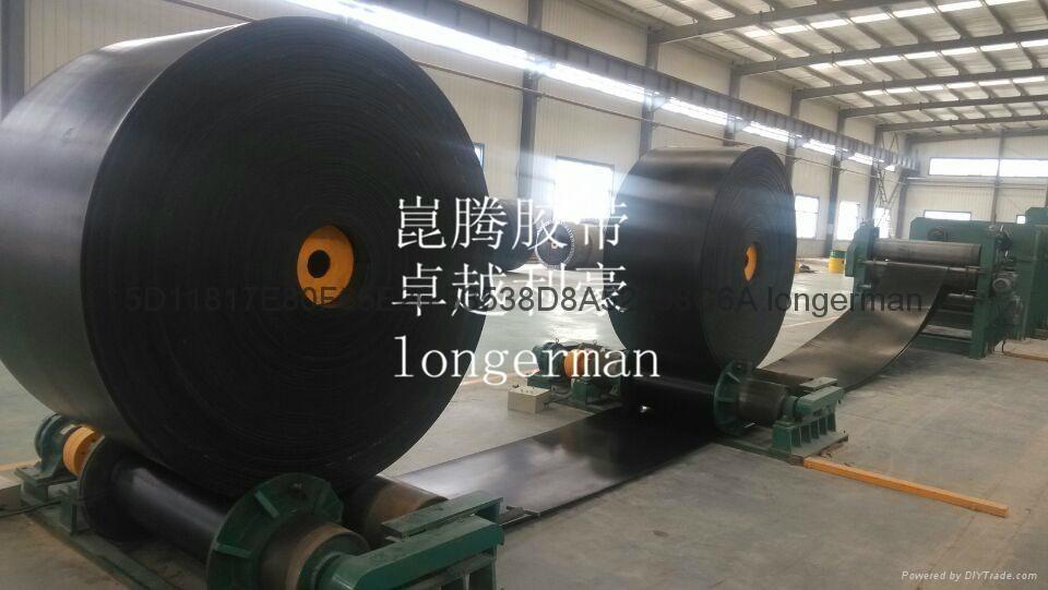 High-tenacity conveyor belts 3