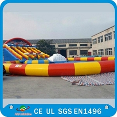 CE PVC Giant Floating Inflatable Water Parks With Water Sport Games