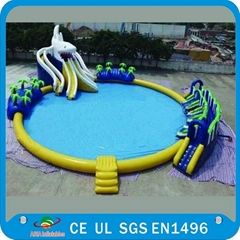 Hot Sales Amusing Inflatable Water Park Details: