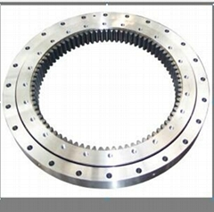 Inner Teeth Two-Row Four Point Contact With The Same Track Ball Slewing Bearing