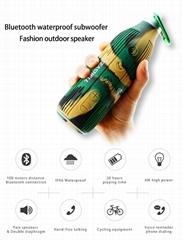 Waterproof mini bluetooth speaker with NFC function