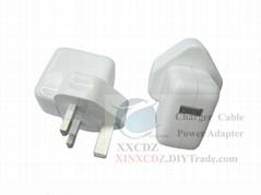 英規USB電源適配器輸出5V2A
