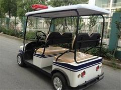 Falcon brand police car patrol car resort car electric car
