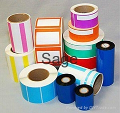 Custom self adhesive sticker paper