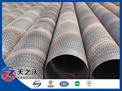 Carbon Steel Spiral Pipe Bridge slot screen
