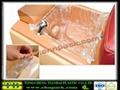 Blue spa liner for nail salon