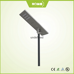 LED solar panel light 60w all in one street light