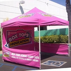 Advertising tents
