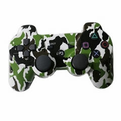 Camouflage bluetooth game controller for ps3 playstation