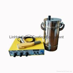 Small Powder Coating Machine With Mini Hopper JH-605M