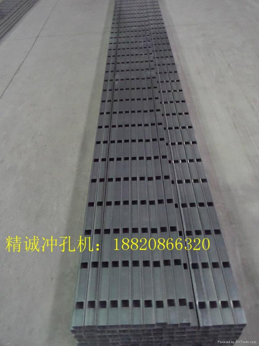 佛山精誠機械多功能不鏽鋼液壓打孔機護欄沖孔設備 4