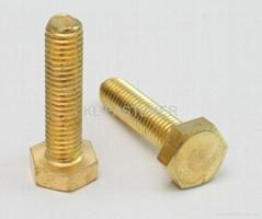 六角铜螺栓DIN933