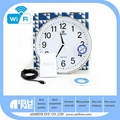 WIFI Wall Clock Camera 5