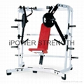Iso-Lateral Wide Chest/Cheat Press machine/hammer strength