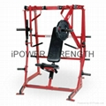 Iso-Lateral Decline Bench/Decline Bench-hammer strength