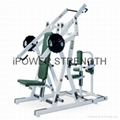 Iso-Lateral Chest/Back/Chest press ,Back extension machine-hammer strength