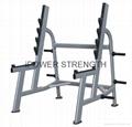 Olympic Squate Rack,Inotec Freeweight Line Squat Rack