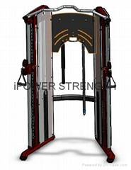 Dual Adjustable Pulley,Functional Trainer,Dual Pulley System