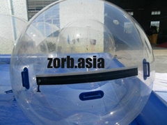 Inflatable human water walking zorb ball for sale