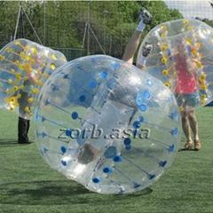 Inflatable bumper ball b