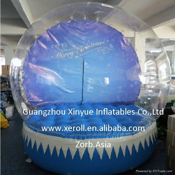 Hot sale giant inflatable snow globe for sale 3