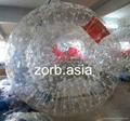 Latest inflatable human bowling ball