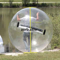 Cheap inflatable aqua water ball for