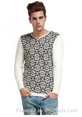 Hot sale for korean men pullover 2015 1