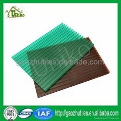 low price policarbonate sheet pc hollow sheet