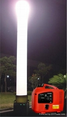 portable inflatable light tower prism for emergency rescue