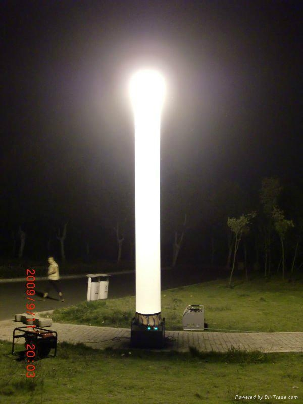 High Brightness Metal Halide Inflatable Light Tower Prism