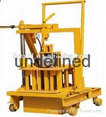 QT40-3C small cement brick making machine price in india