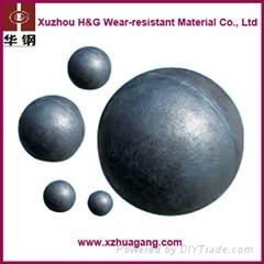 Dia20mm-150mm Wear Resistance Casting Iron Grinding Ball
