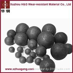 12% Chrome Alloyed Casting Cement Mill Grinding Balls  2