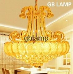 Factory-outlet crystal ceiling lamp