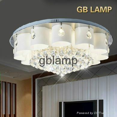 Modern Crystal Lamp Vintage Fashion Hotel Project  1
